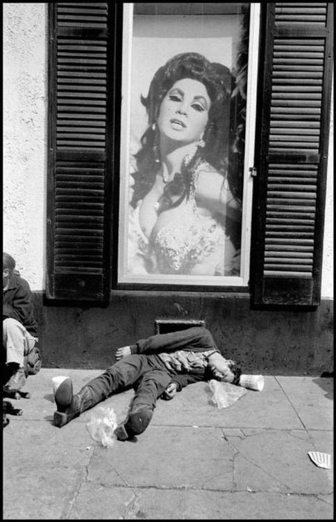 Bruce Gilden - New Orleans, 1974. S)