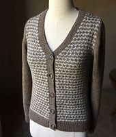 Ravelry: zpurls' Houndstooth Cardigan