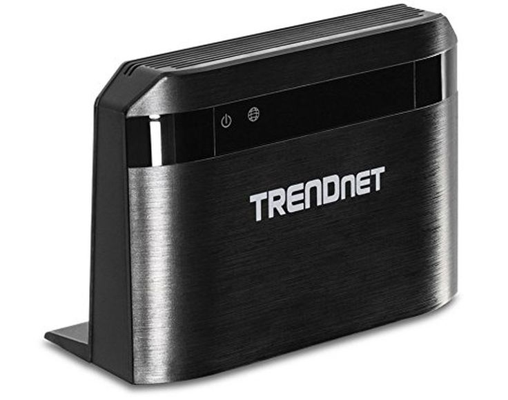 TRENDnet Wireless AC750 Dual Band Router 733 Mbps Total Wireless Pre-Encrypte...