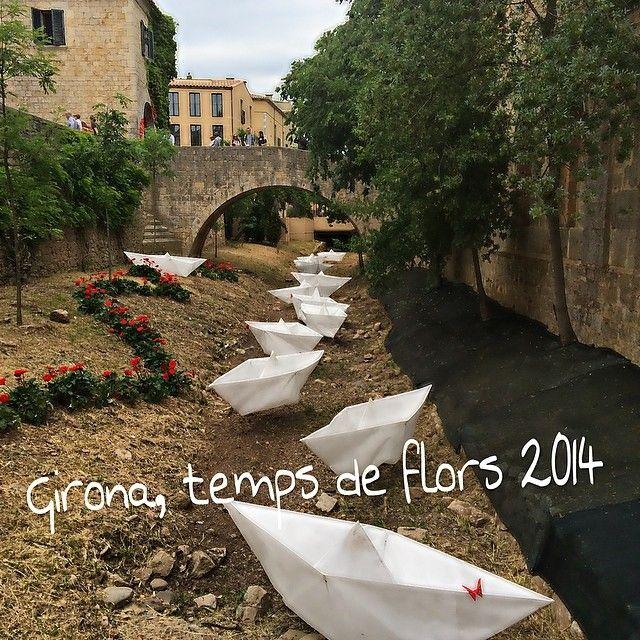 Girona Temps de Flors 2014 Spring Flower Festival, Catalonia via altaria.