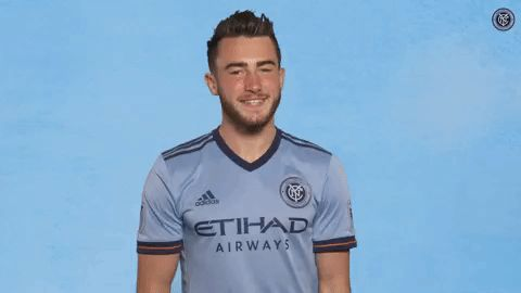 New party member! Tags: soccer applause clapping clap mls nycfc jack harrison