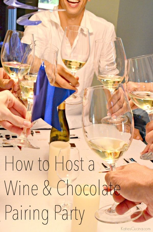 How to Host a Wine & Chocolate Pairing Party + Giveaway #LindtPairing