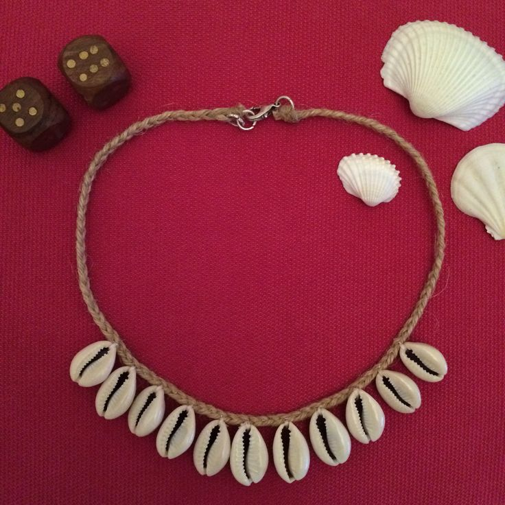 New design with seashells // Deniz Kabuklu Kolye