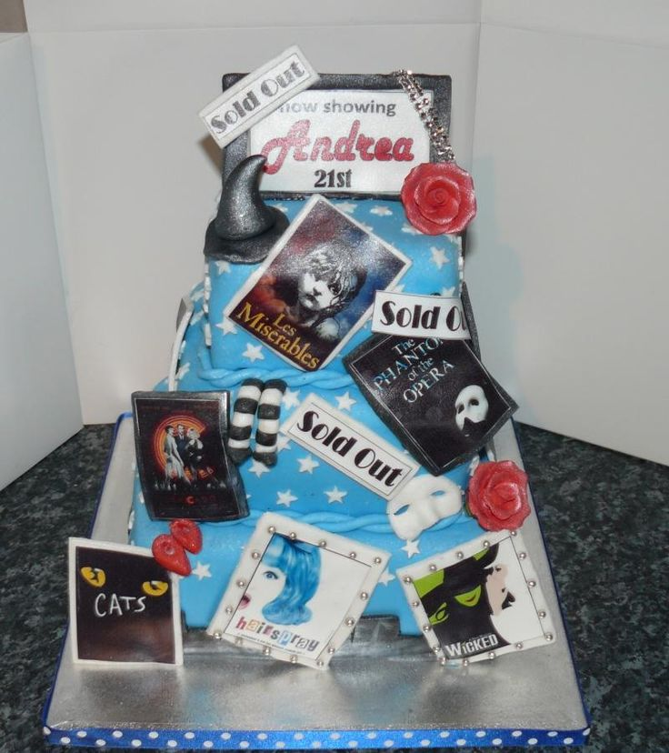 Cake Decorating Theme Kits : 33 best images about Theatre/Show Themed Cakes on Pinterest