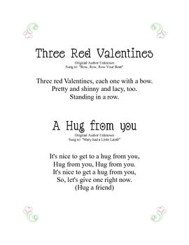 Valentine's Day Songs for PreK to Kindergarten...  Little GUYS