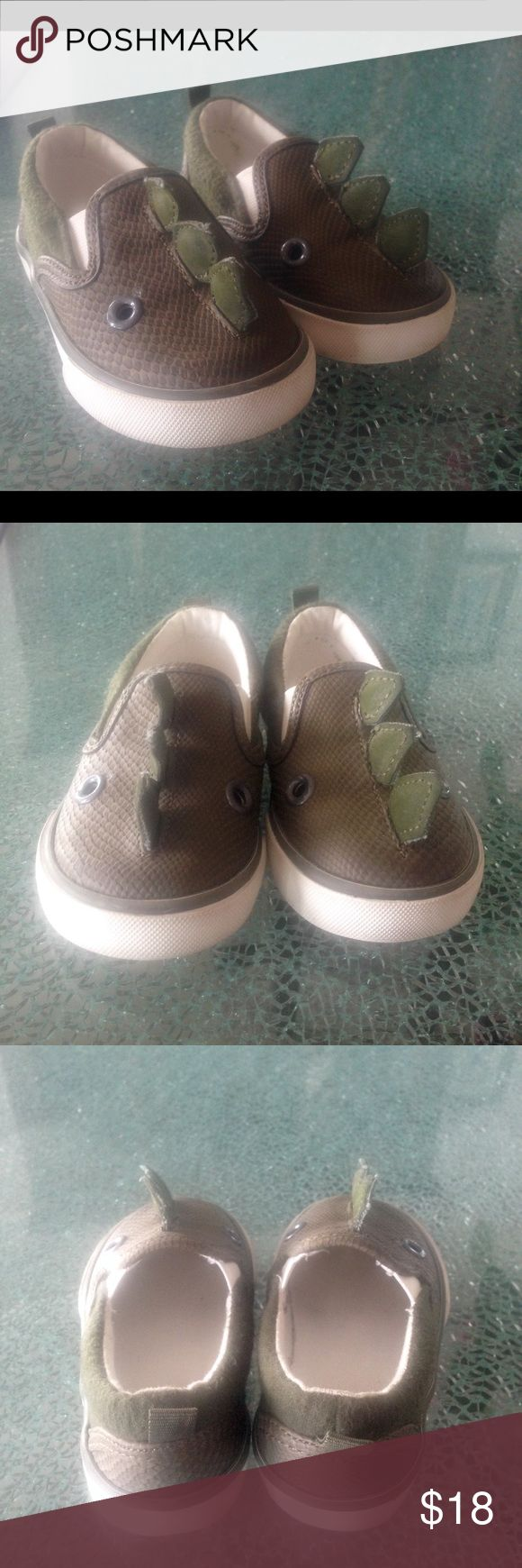 Adorable GAP Dino shoes Only worn one time for an event, in like new condition.  Toddler size 6. GAP Shoes Sneakers