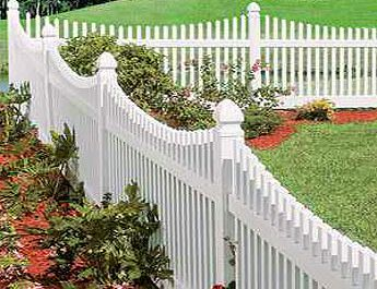 Love......white picket fences. Would love this and a tiny cottage home :-)