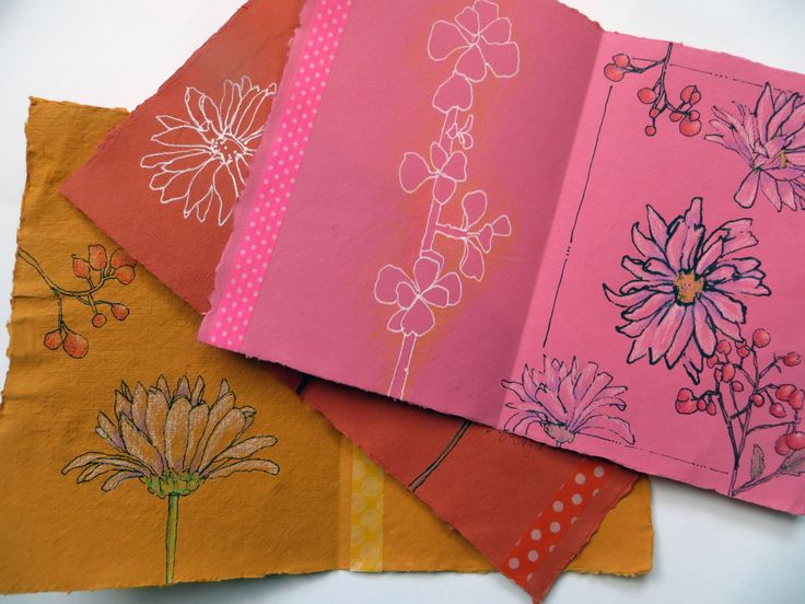 part one pink page by Jane LaFazio