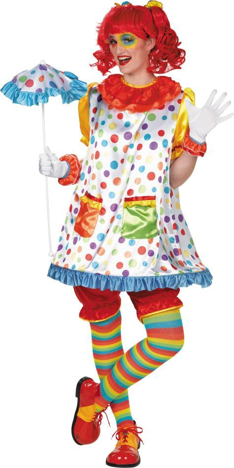 Adult Clown Girl Costume - Party City