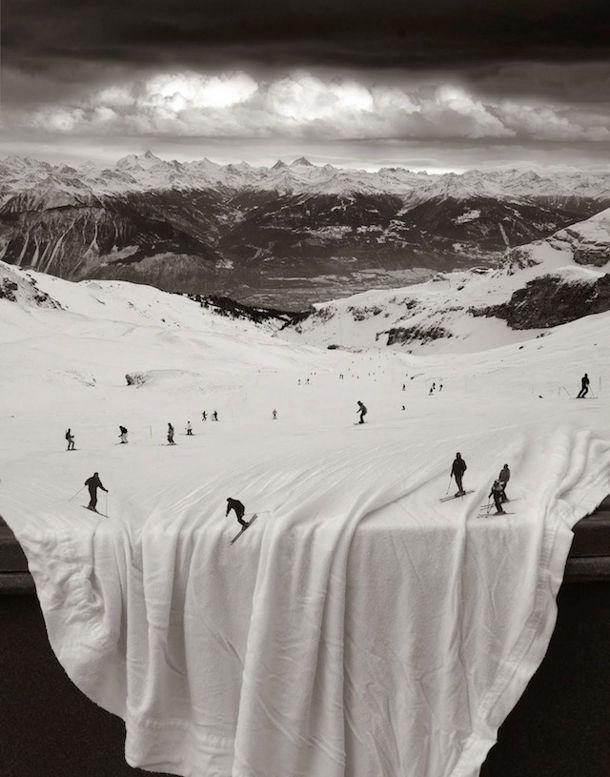 Surrealistische fotomanipulaties thomas barbey