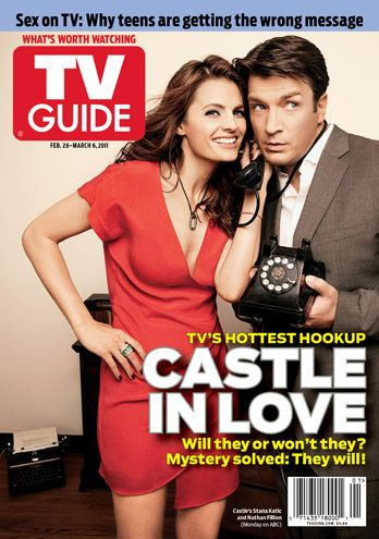 TV couple on ABC's #Castle. #Caskett Nathan Fillon and Stana Katic should hook up in real life too!