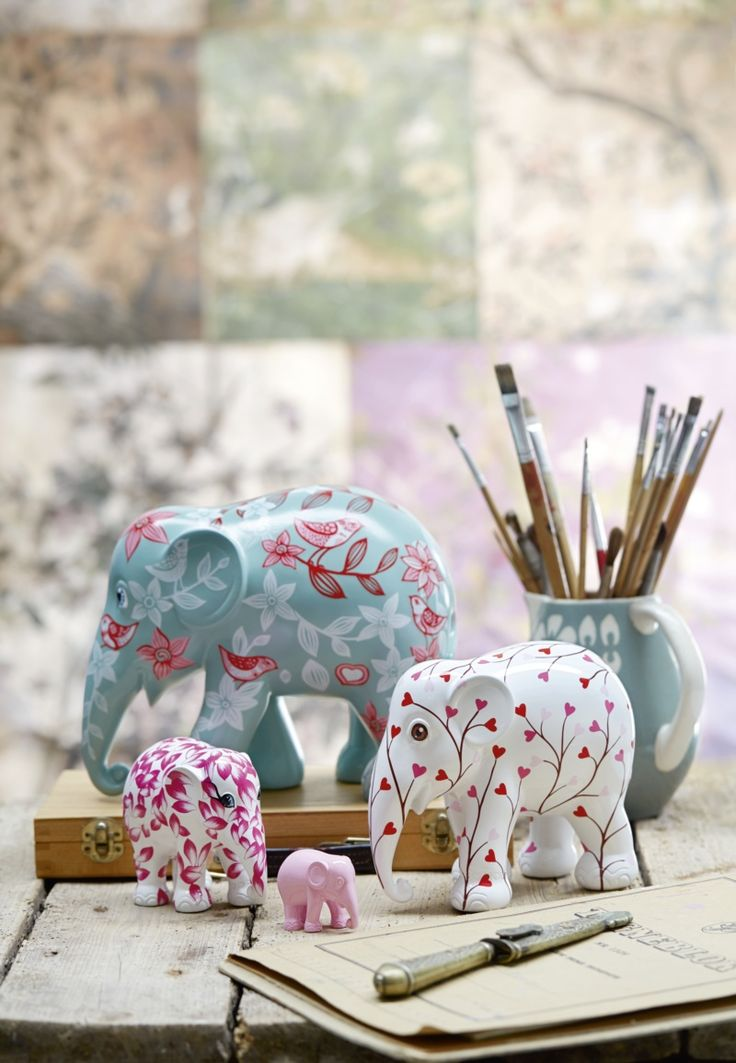 Elephant Parade Replicas | Elephant Conservation | Charity | Decorative Art | Unique Gift | Gifts for Her | www.homearama.co.uk