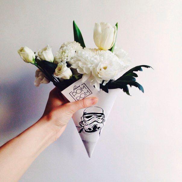 РомРом studio #flowers #Star #Wars #starwars