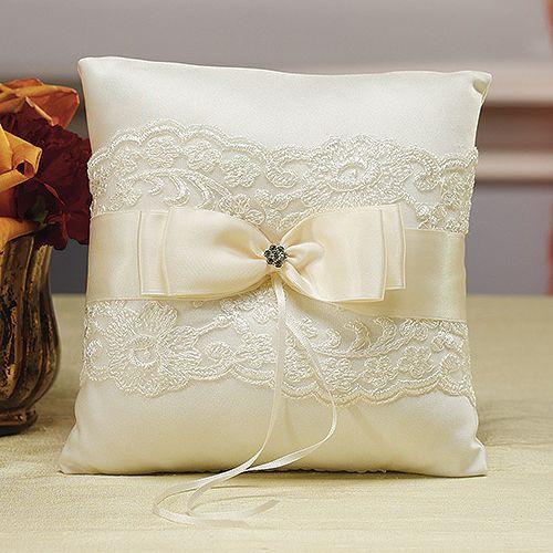 romantisches Ringkissen French Lace | evetichwill - Der Hochzeitsshop