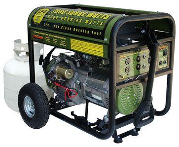 Sportsman Series Propane 7000 Watt Generator contemporary-outdoor-power-equipment