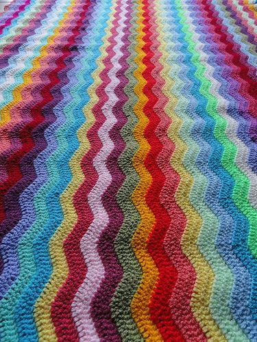 116 Best Crochet Ripple Afghans Images On Pinterest Crochet