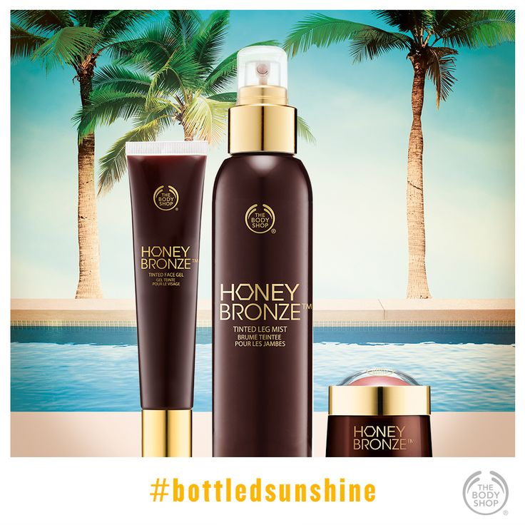 Yes, you CAN achieve a stunning head-to-toe holiday glow – no trip required! #bottledsunshine #goldenglow #faketan #healthyglow http://www.thebodyshop.co.za/store/list/category/make-up-core