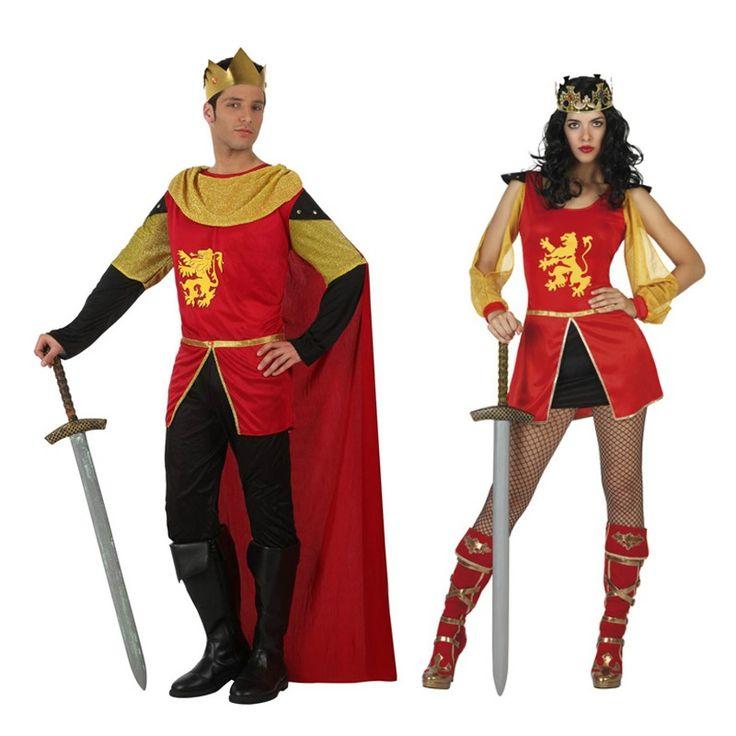 Costumes pour couples Rois Moyen Âge #déguisementscouples