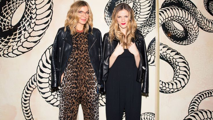 Whitney Casey and Brooklyn Decker On Their App Finery: Whitney Casey and Brooklyn Decker make *quite* the pair. For starters, they're BFFs who finish each other's sentences. The former newscaster and model love playing dress-up in Casey's closet in her Kelly Wearstler-designed Soho apartment (don't worry, both of those are coming to Coveteur very soon). They actually met during a game of dress-up. --- Cheetah jumpsuit and leather jacket. | Coveteur.com