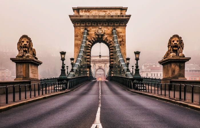 Must-See Budapest Tourist Attractions | Szechenyi Chain Bridge