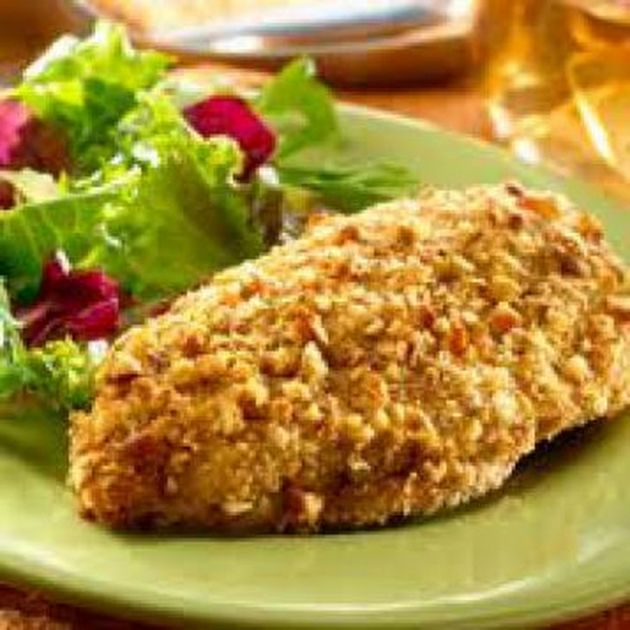 Biggest Loser Pecan-Crusted Chicken