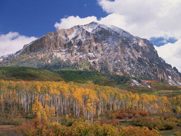Colori d'autunno: Colorado selvaggio.Coloradoi, Aspen Trees, Rag Mountain, Geo Mountain, Colorado Marcellina Mountain, Mountain Colorado, Colorado Mountain, Autumn Valley, Colorado I