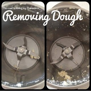 Great tip - Removing dough from blades