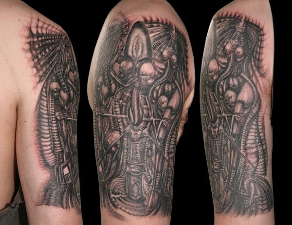H.R Giger Tattoo | Geek Sheek | Pinterest