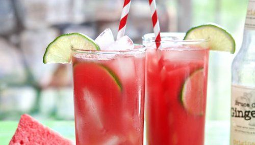 Watermelon Lime Refresher