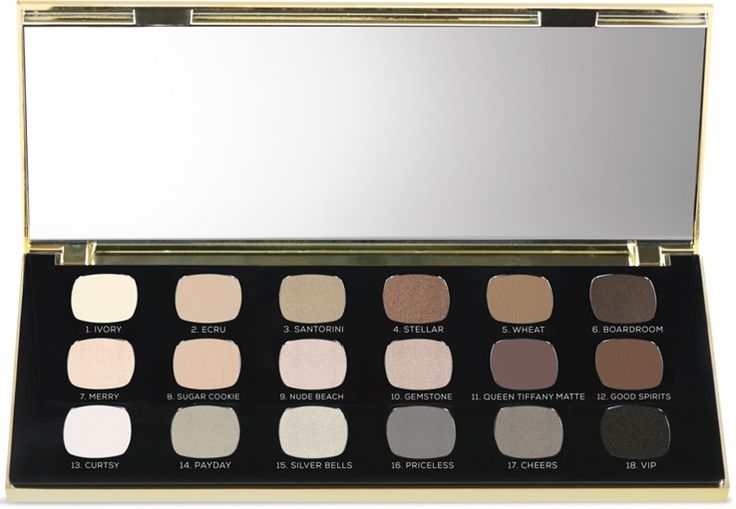 Bare Minerals The Hidden Treasure Ready 18.0 Eyeshadow Palette for Holiday 2017