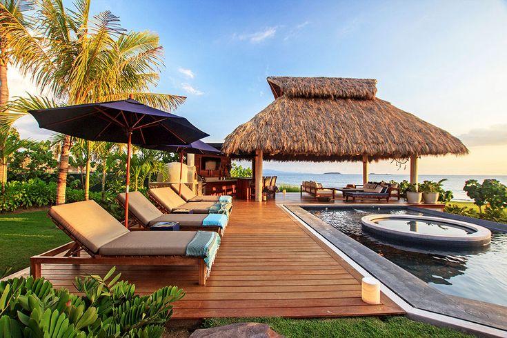 #luxuryvacation#luxuryvilla#mexico#puntamita#beach#travel#vacations#beach#amazing#rest#getaway#lacurevillas#pool#sunset