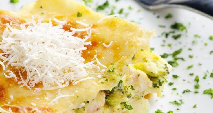 Λαζάνια με κοτόπουλο και τυριά | Άκης Πετρετζίκης