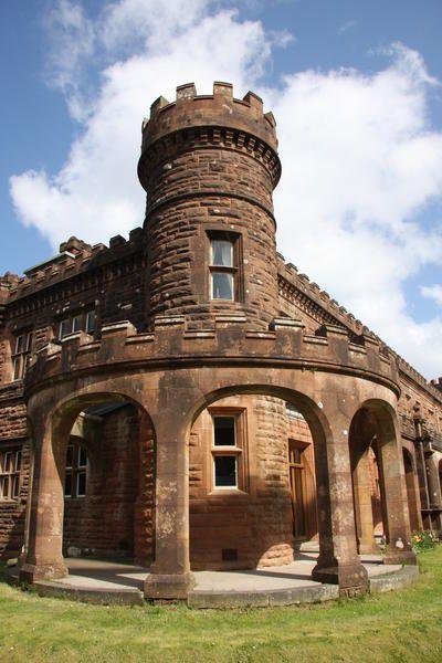 Kinloch Castle, Island of Rum, Scotland, built in 1897 by Sir George Bullough