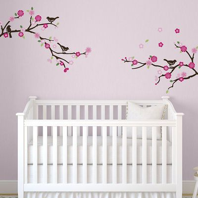 Blossoms and Branches Wall Decal - AllPosters.ca