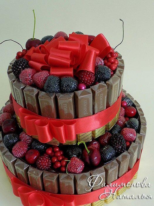 (5) Gallery.ru / Фото #1 - конфетные тортики - filimonova