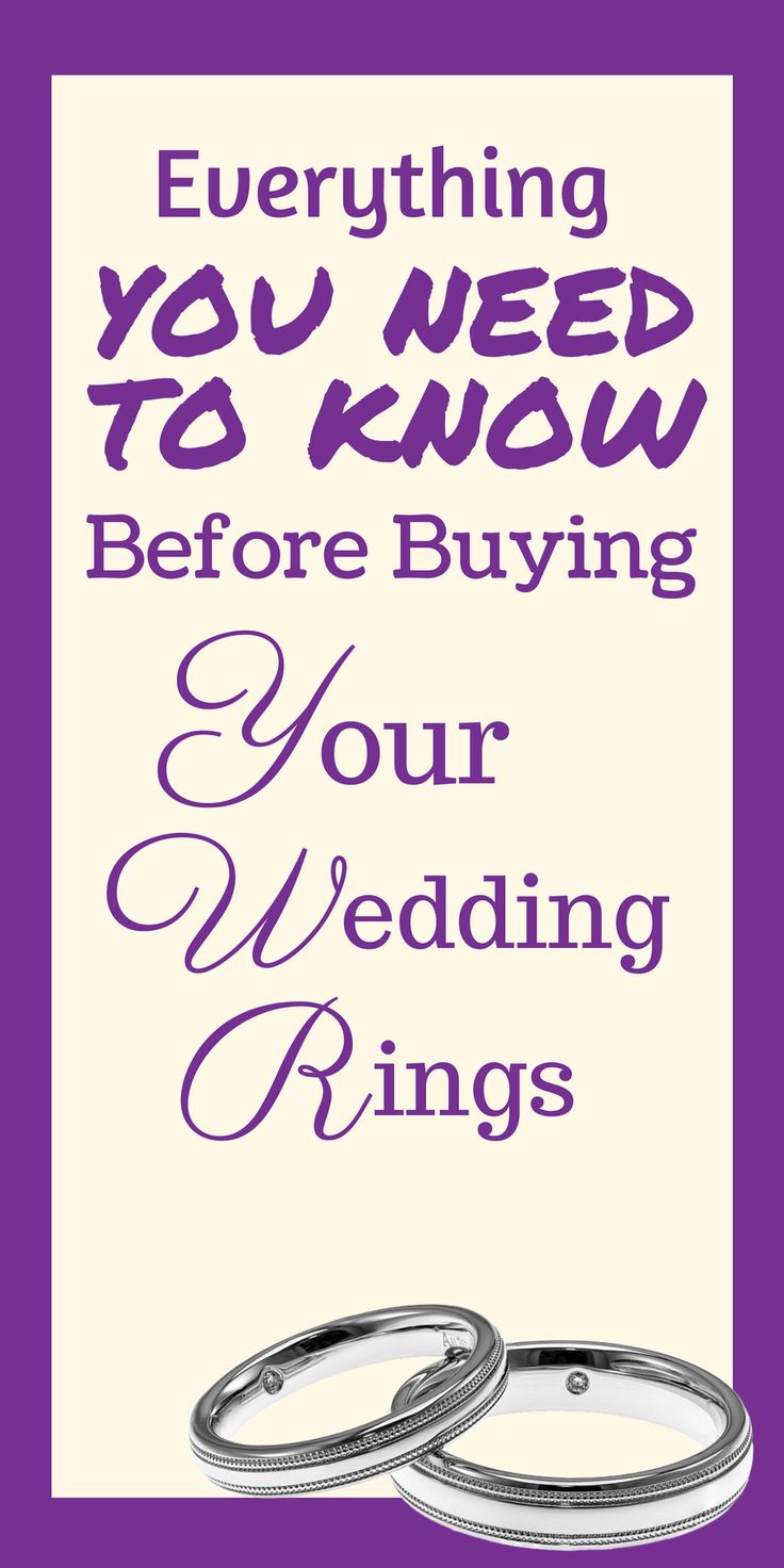 Did you know, choosing the wrong wedding ring could actually damage your engagement ring? There are so many different kinds of rings, platinum, gold, silver, white gold, rose gold, how do you know which to go for? This guide goes through everything you need to know before buying your wedding rings.