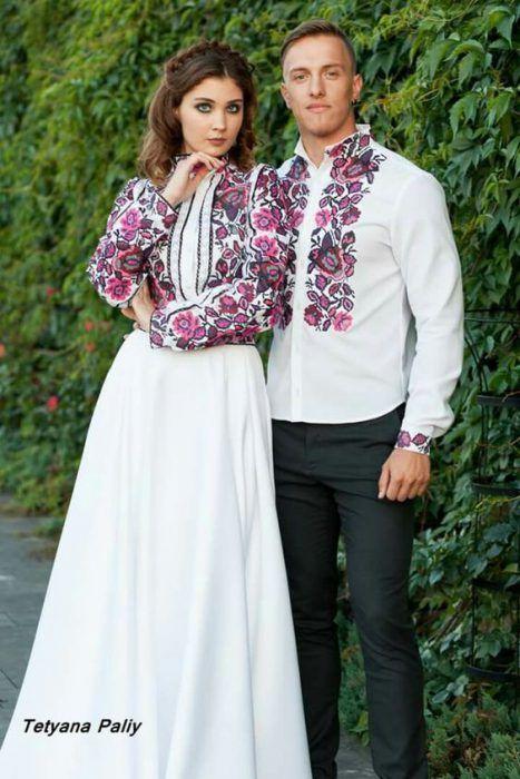 Весільні сукні в українському стилі  969d88b6542b8