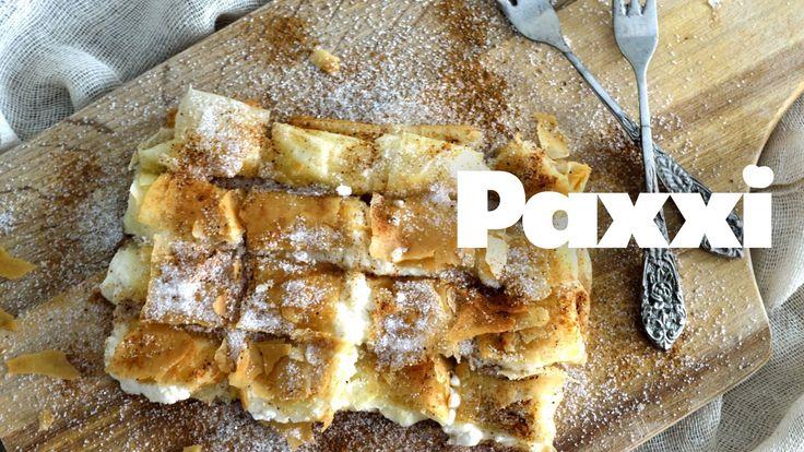 Εκπληκτική Κρητική μπουγάτσα με ξινή μυζήθρα - Paxxi Ε57 - Sweet and sour filo parcel (Bougatsa) - YouTube