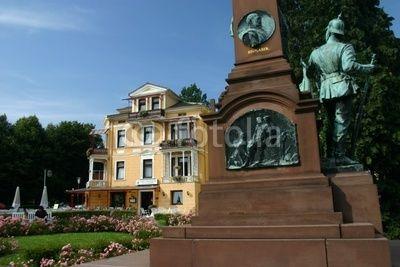 Denkmal für den deutsch-französischen Krieg 1870/71 in Bad ...
