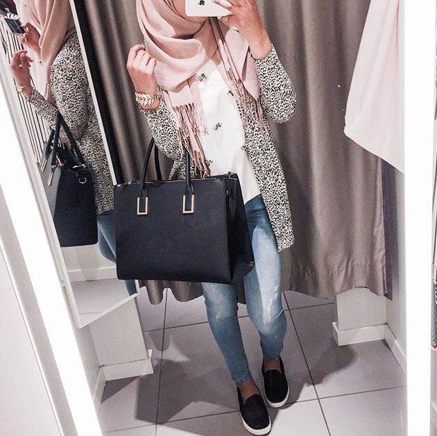 Modest fashion Hijab I fashion