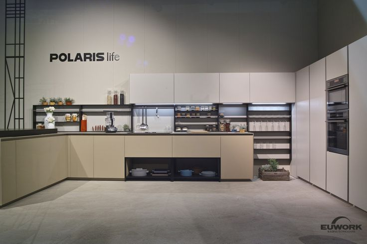 Indoor Building technologies by Euwork Living Product Line. Salone Del Mobile 2016, PolarisLife Stand, Milan.  Euwork Building Technologies www.euwork.it