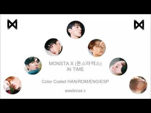 MONSTA X (몬스타엑스) - In Time (Color Coded Han/Rom/Eng/Esp Lyrics)