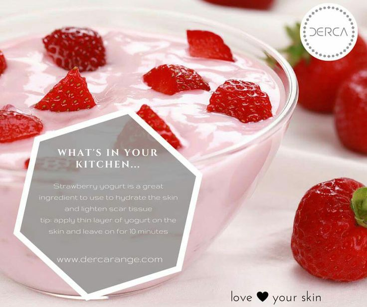 Make your own natural mask with strawberries and treat scars and hydration! see more with Derca #strawberries #beautifulskin #skintips http://ow.ly/J9he3017goX
