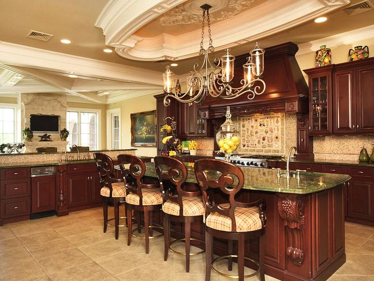 137 Best Images About Luxurious Kitchens On Pinterest | Luxury