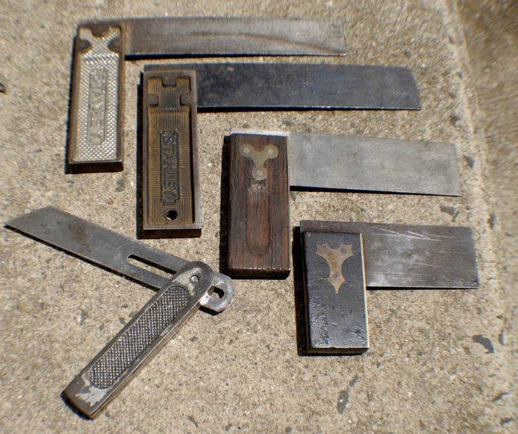 5 ANTIQUE WOODWORKING SQUARE BEVELS LOT WOODWORKING TOOLS | eBay