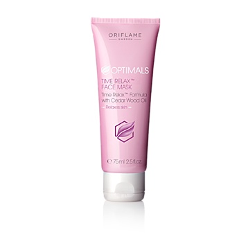 Optimals Time Relax™ Face Mask - Optimals Skin Youth - Skin Care - Shop for Oriflame Sweden - Oriflame cosmetics –UK & ROI - Optimals Time Relax™ Face Mask Oriflame