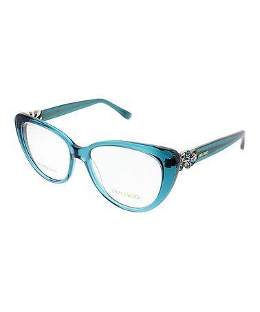 Another great find on #zulily! Light Blue Gemstone Butterfly Eyeglasses #zulilyfinds