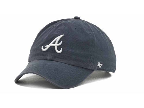 Atlanta Braves Adjustable Clean-Up Hat $17.95