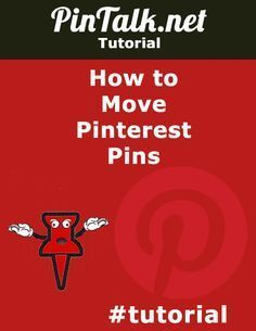 How to Move Pinterest Pins. Here is a quick Pinterest tutorial on how to move Pinterest pins from one Pinterest board to another. This is a new feature added by #Pinterest engineering. In the past, users could edit a pin to change which board it belonged to or delete a pin entirely. #tutorial