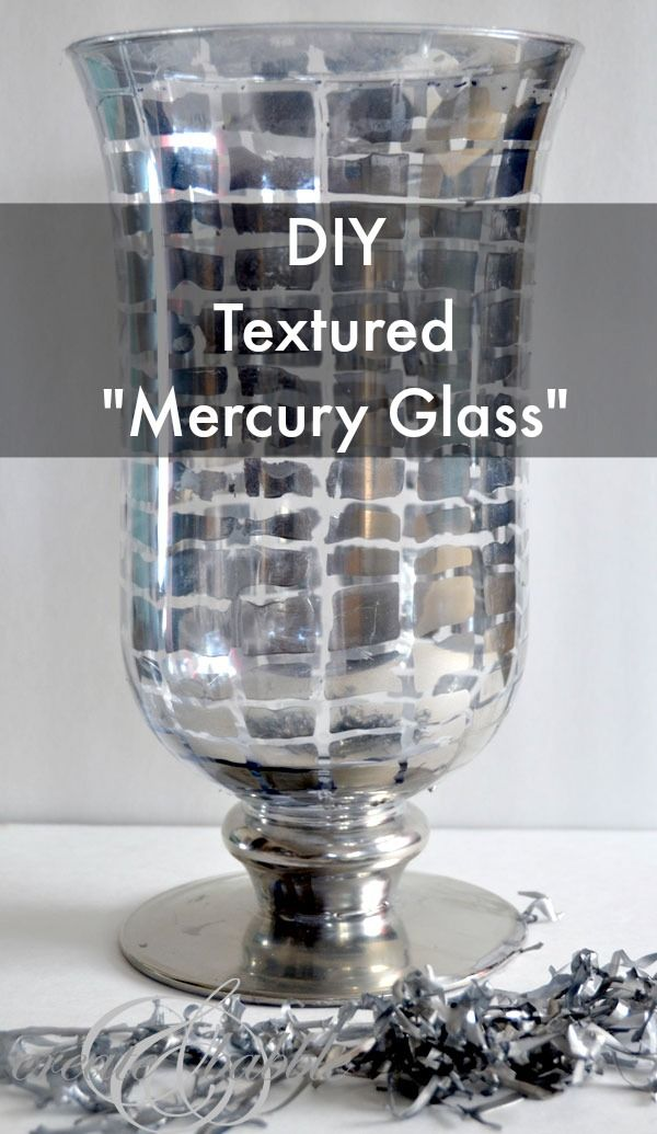 Diy Mercury Glass Vase Mercury Glass Glass Vase And Vase